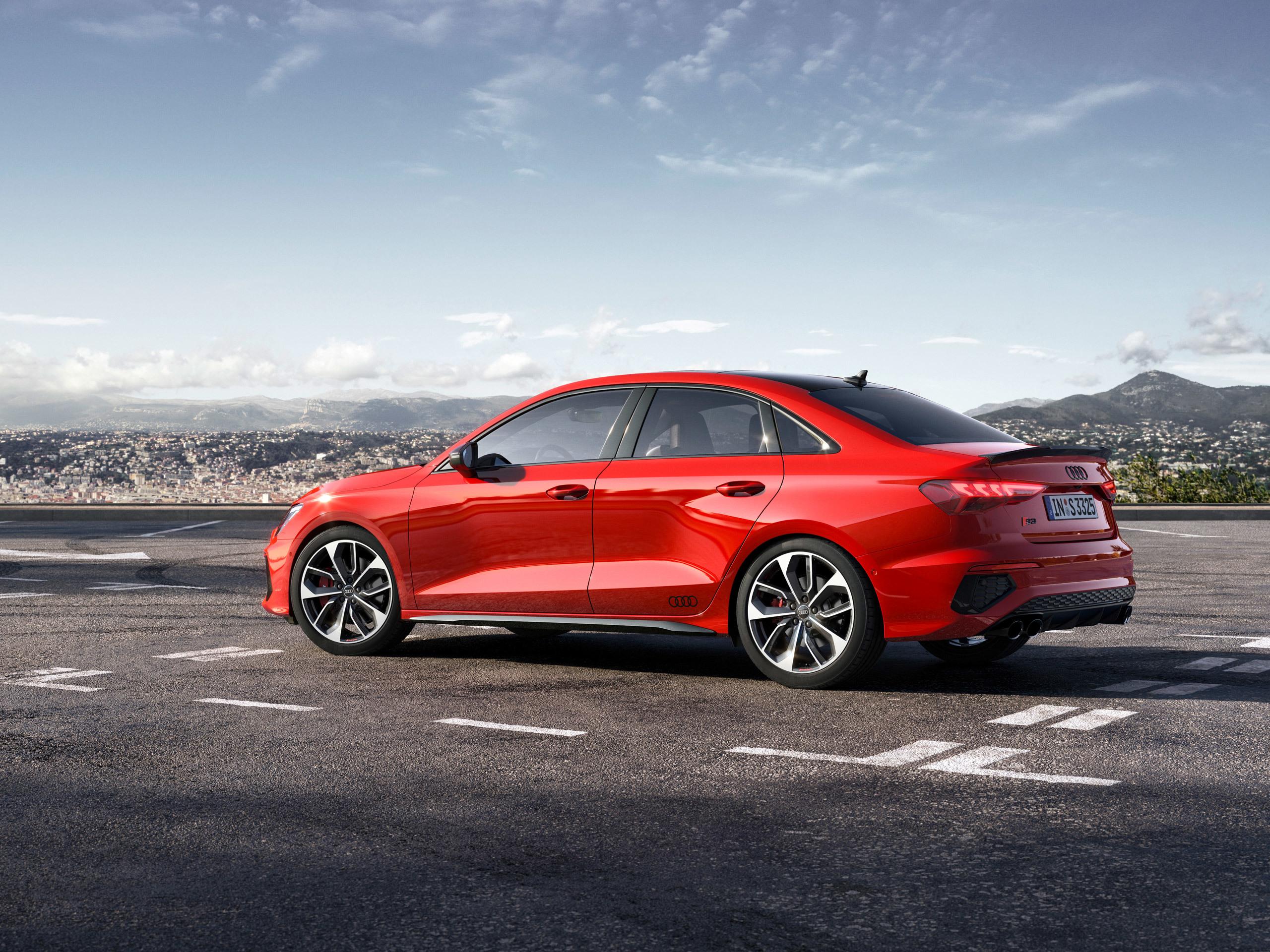 Audi S3 Sedan 2021 - アウディに嵌まる - 壁紙画像ブログ