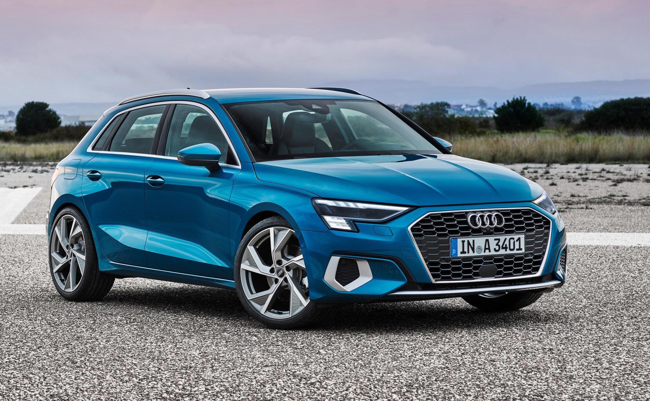 2021 Audi A3 Sportback revealed with muscular new design ...