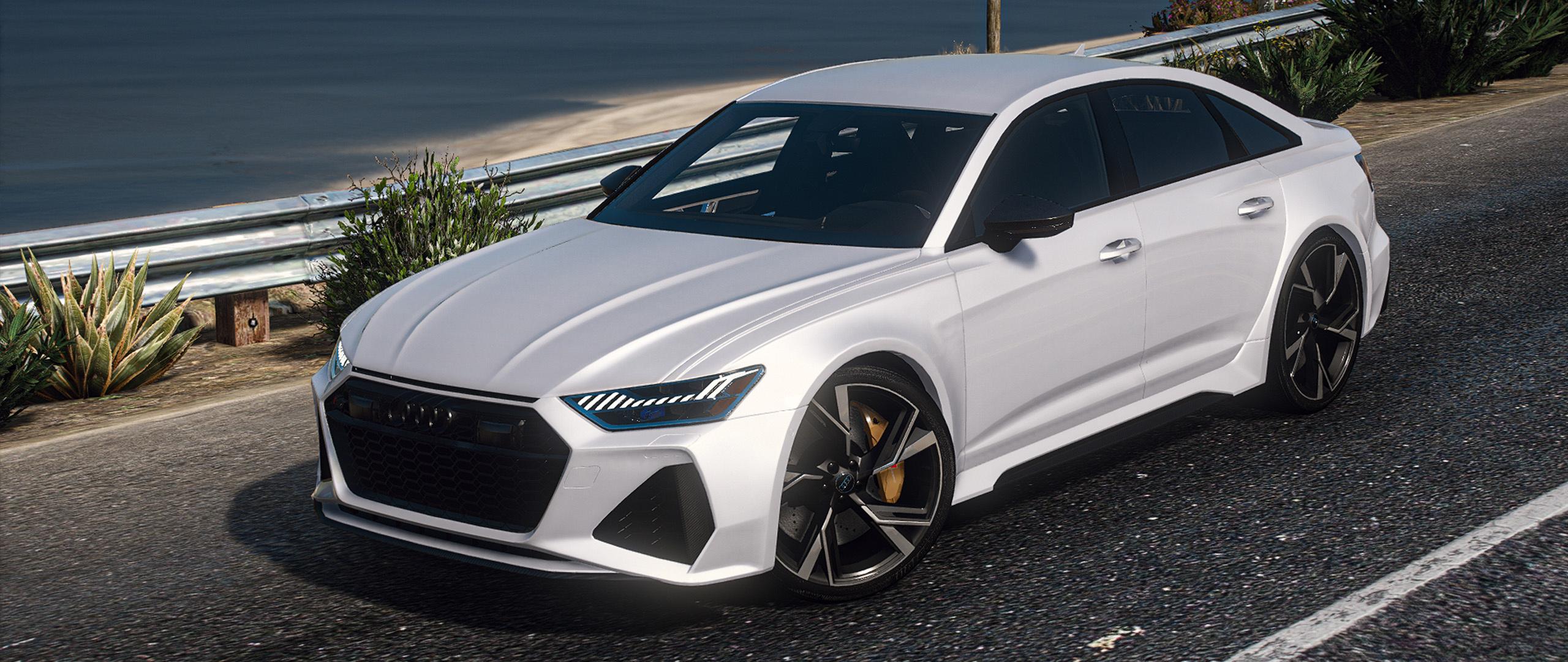 2021 Audi RS6 Sedan (C8) Add-On 1.0 - GTA5mod.net