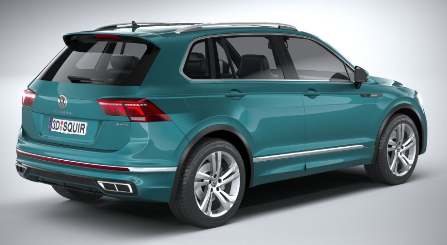 2021 VW Tiguan SEL Premium R Line Colors, Release Date ...