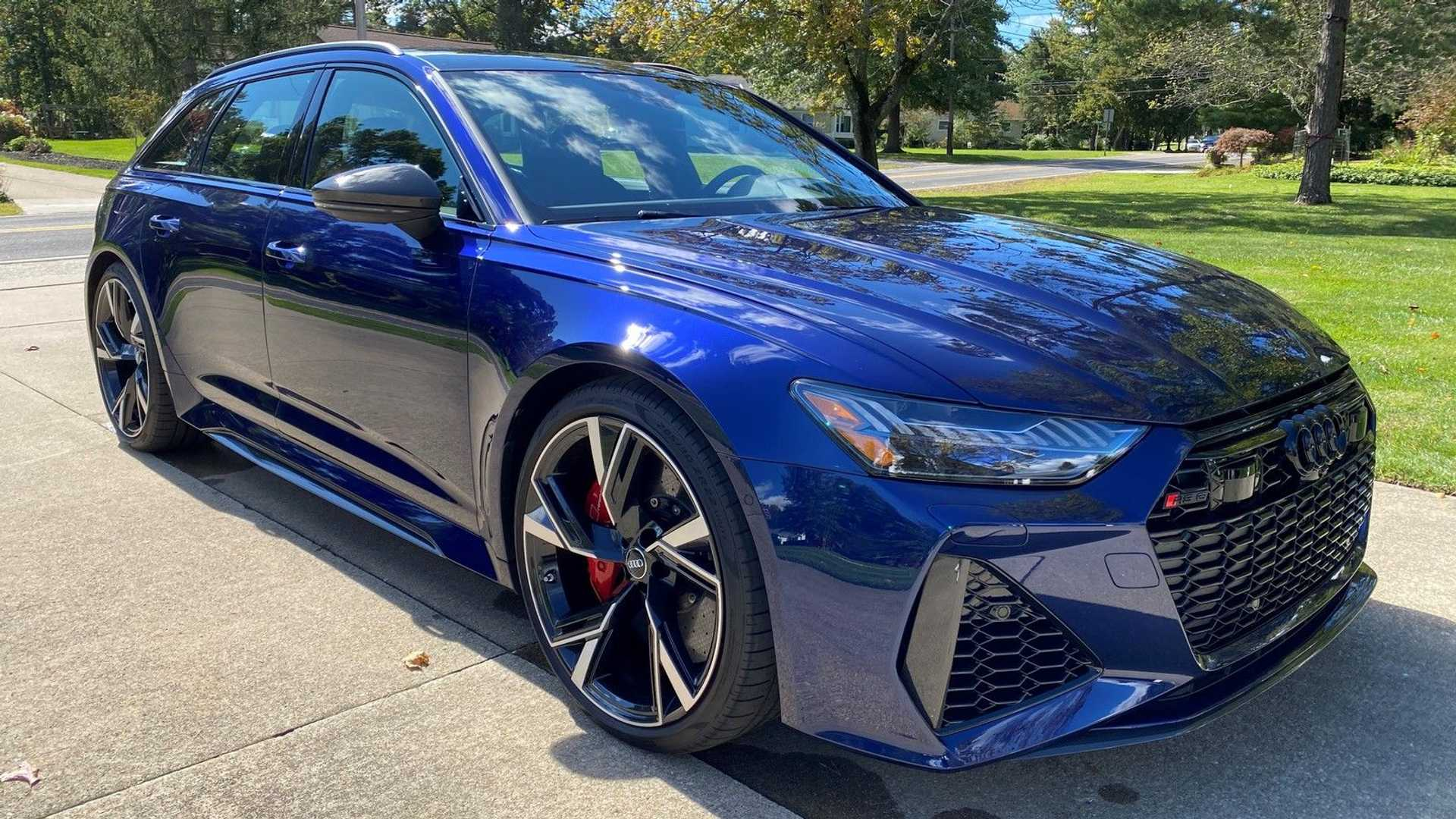 2021 Audi RS6 Avant Owner Selling Super Wagon For $207,000