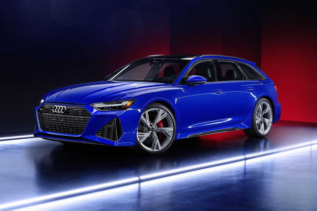 This 2021 Audi RS6 Avant is a Nogaro Blue love letter to ...