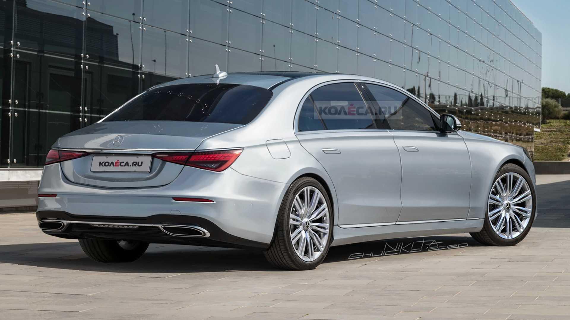 Mercedes S-Klasse (2021): Realistisches Rendering nach ...