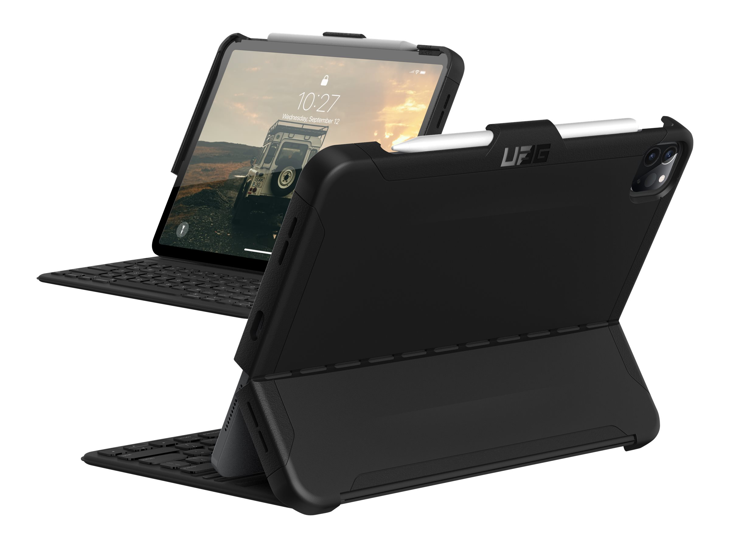 UAG iPad Pro 11-inch (2nd Gen, 2020) Case Scout [Black ...
