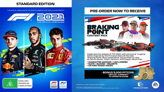 F1 2021 | PS4 | Pre-Order Now | at Mighty Ape Australia