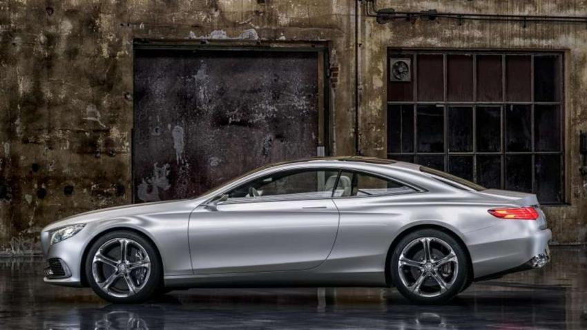 Mercedes zeigt die zweitürige S-Klasse - Auto - Bild.de