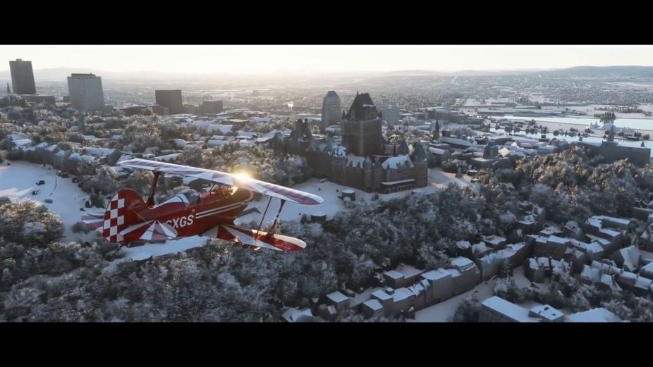 Microsoft Flight Simulator - Snowy 2021 Update