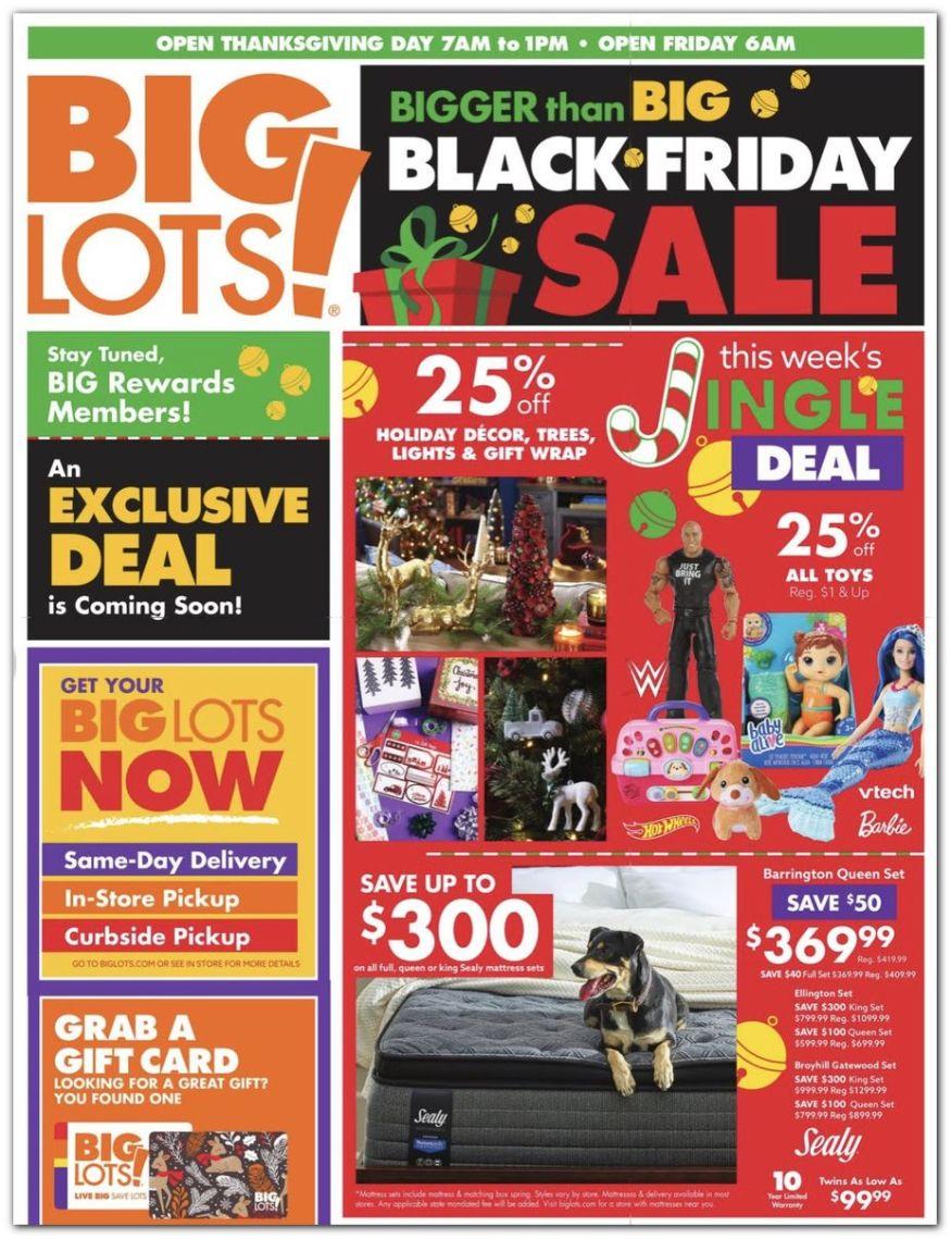 Big Lots Black Friday 2021 - Ad & Deals   BlackFriday.com