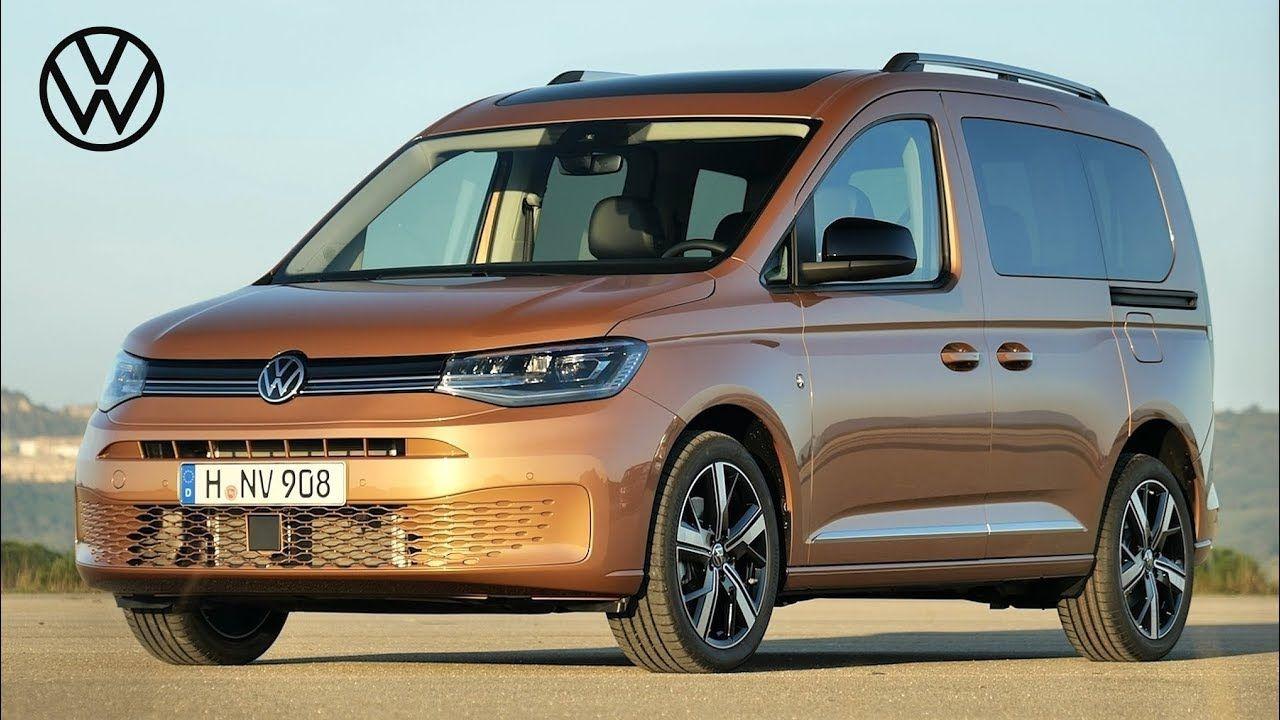 2021 VW Caddy the innovative 5 generation в 2020 г