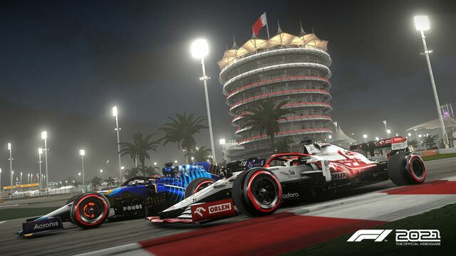 F1 2021 Édition Deluxe PS4 and PS5 sur PS5 - PSSurf
