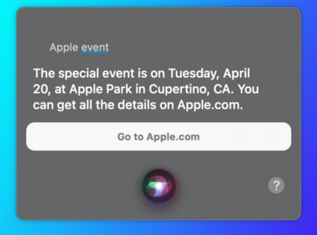 Apple event in April 2021: Keynote date now officially ...