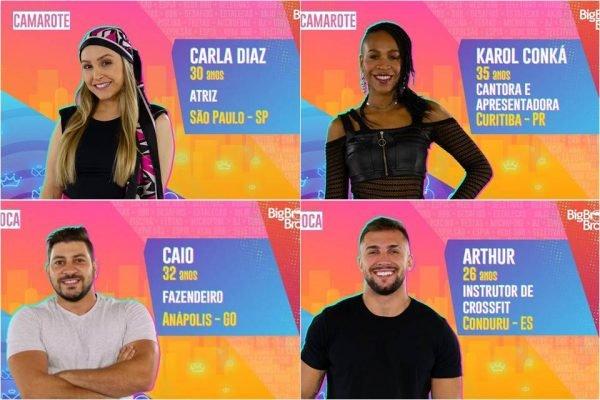 'BBB 21': veja quem são os participantes do 'Big Brother ...