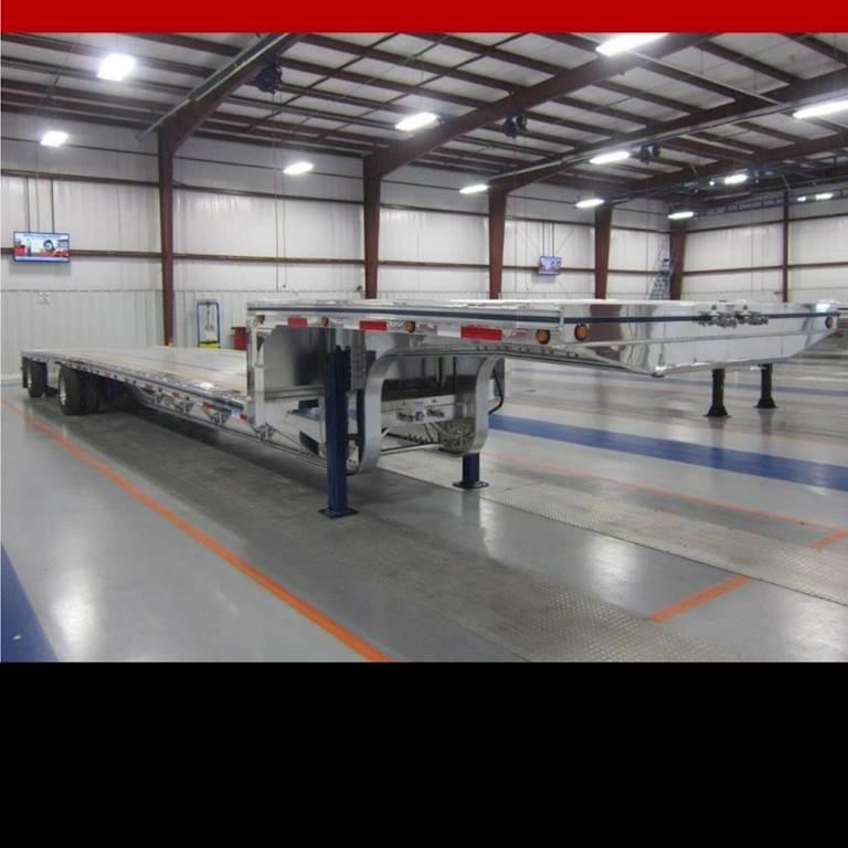 2021 MAC Trailer 53x102 Tandem Axle Aluminum Drop Deck ...