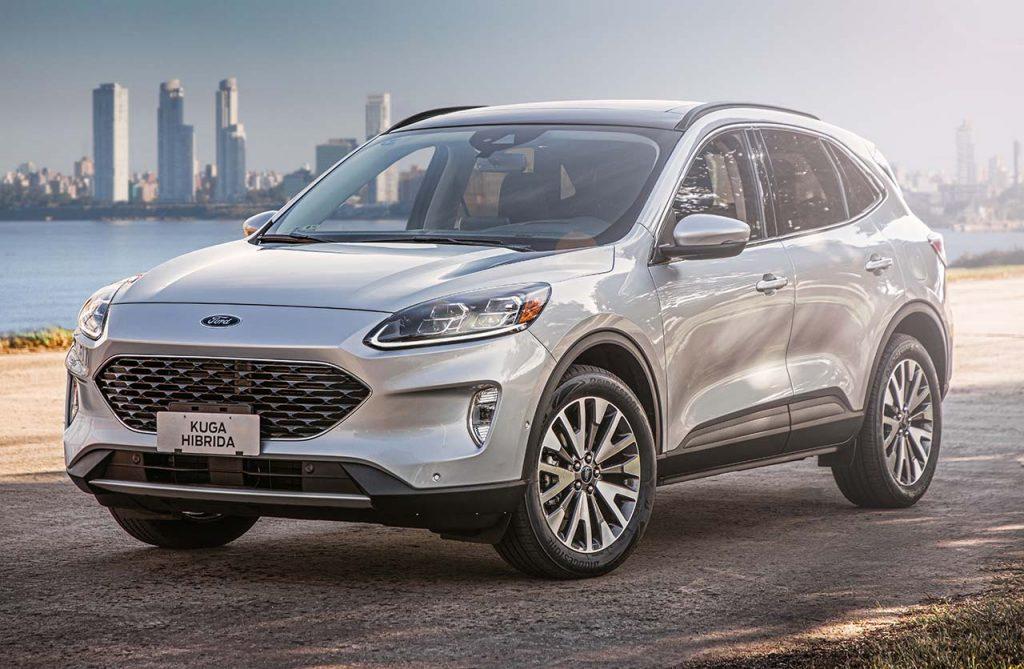 Ford-Kuga-Titanium-2021-delantera - Mega Autos