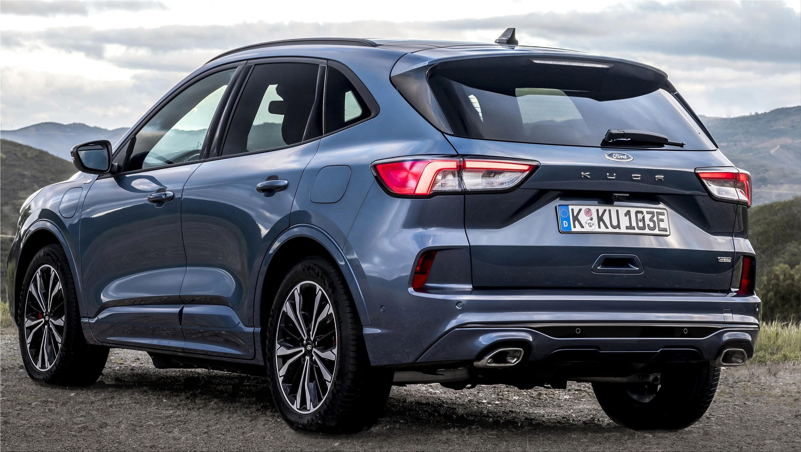 La nueva Ford Kuga 2021 Titanium Hibrida