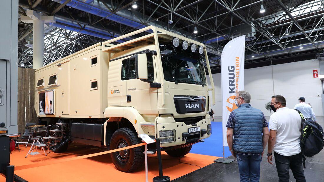 Luxuswohnmobile 2021: Schick auf Caravan Salon Düsseldorf ...