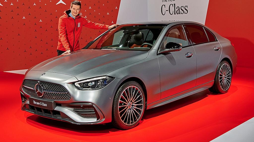Mercedes C-Klasse W 206 (2021): künftig größer und ...