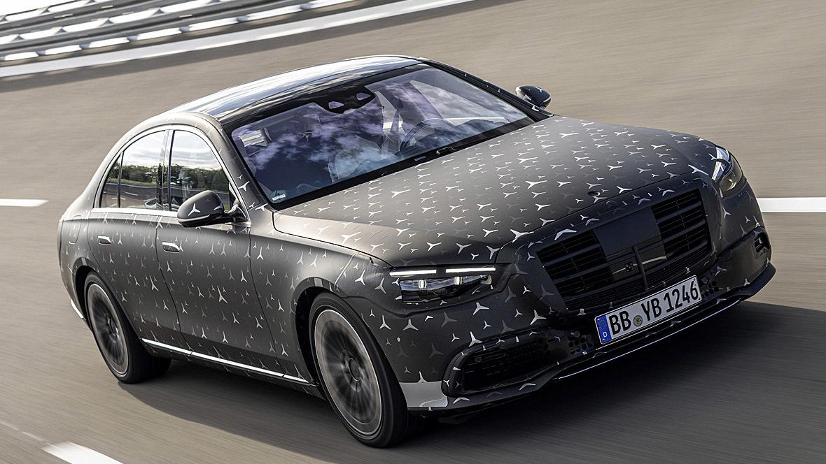Mercedes S-Klasse 2021 (getarnt) - autohaus.de