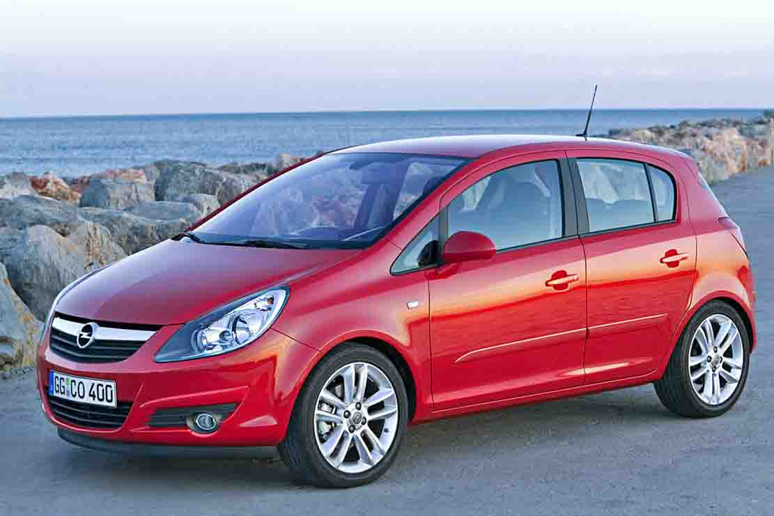 Opel Corsa 1.2 2008 - Technical specifications