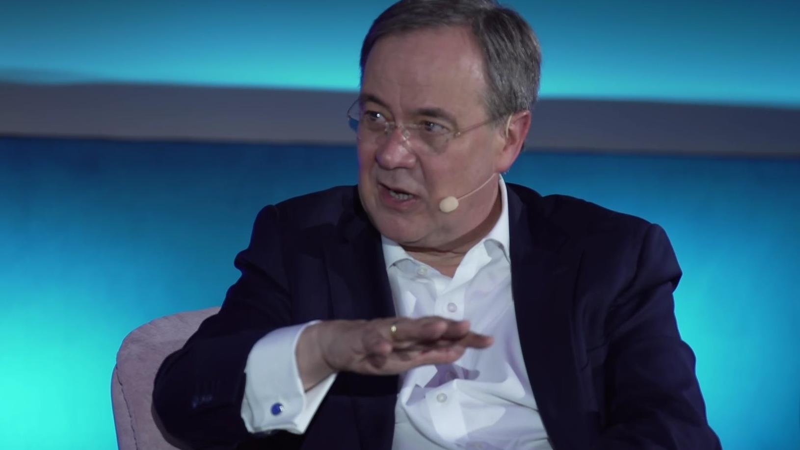 Unions-Kanzlerkandidat Armin Laschet verurteilt Attentat ...