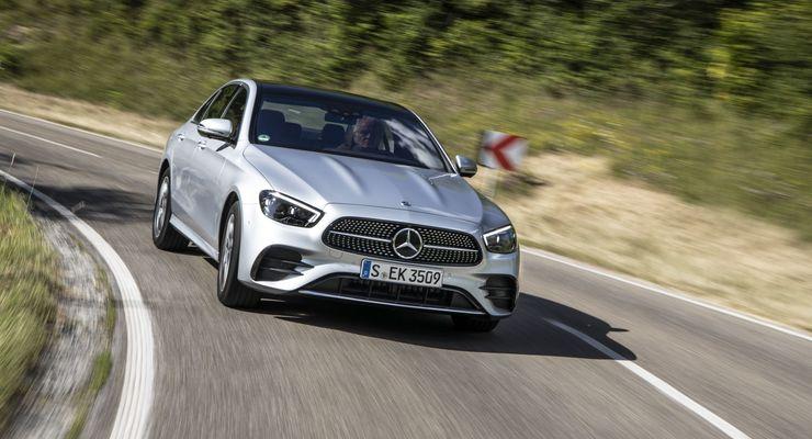Mercedes E-Klasse (2021) Fahrbericht: Intelligenter ...