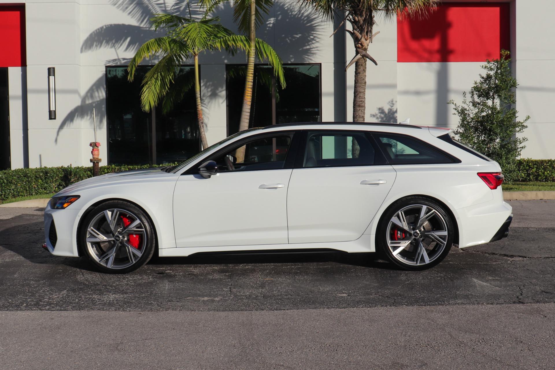 Used 2021 Audi RS 6 4.0T quattro Avant For Sale ($134,900 ...