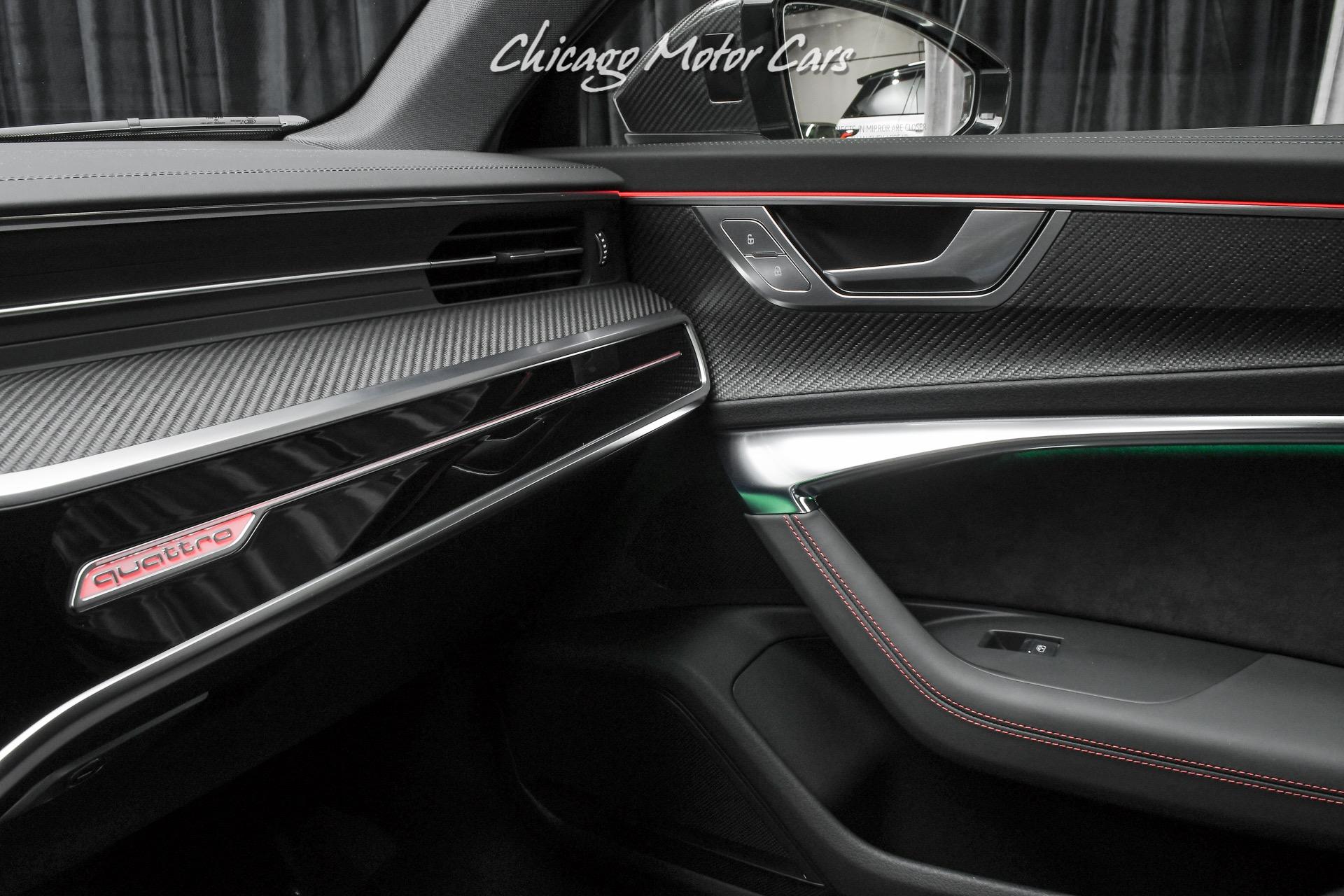 Used 2021 Audi RS6 4.0T Quattro Avant Hatchback LOADED w ...