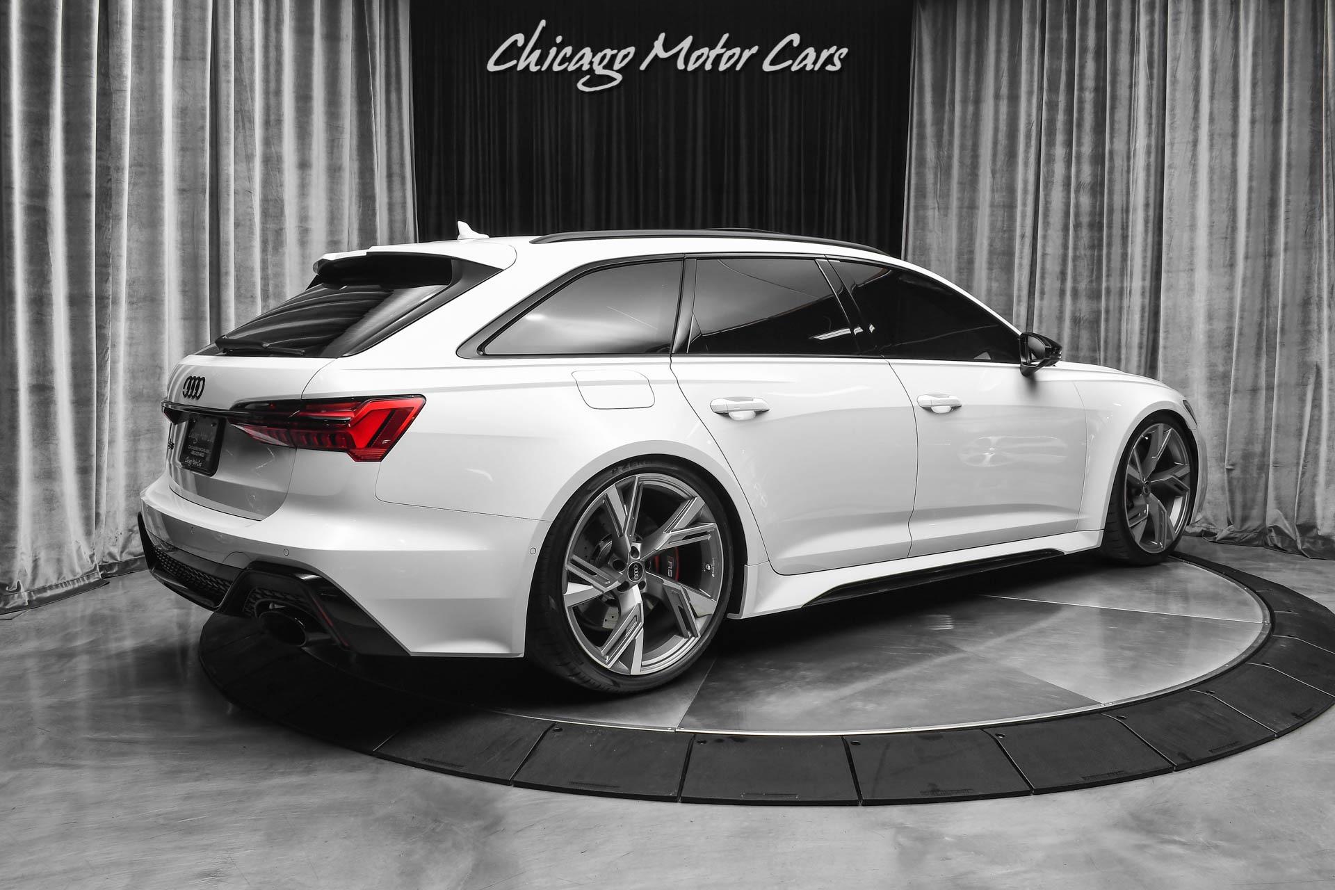 Used 2021 Audi RS6 4.0T quattro Avant EXECUTIVE PKG! BLACK ...