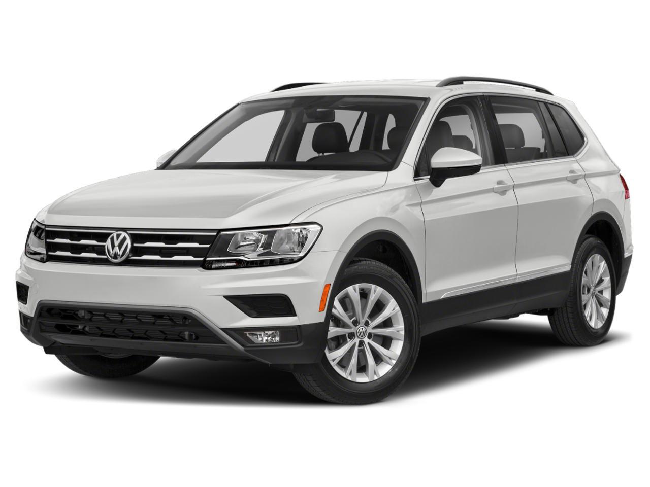 Pure White 2021 Volkswagen Tiguan for Sale at Bergstrom ...