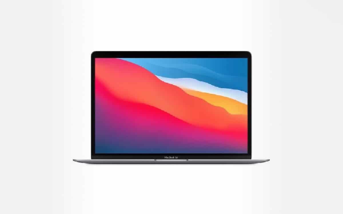"""Soldes hiver 2021 : le MacBook Air 13"""" avec puce M1 d ..."""