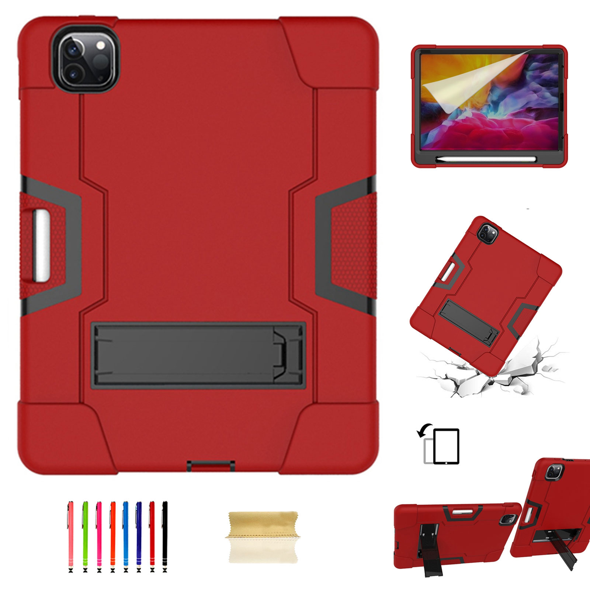 iPad Pro 11 inch 2nd Generation 2020 Shockproof Case with ...