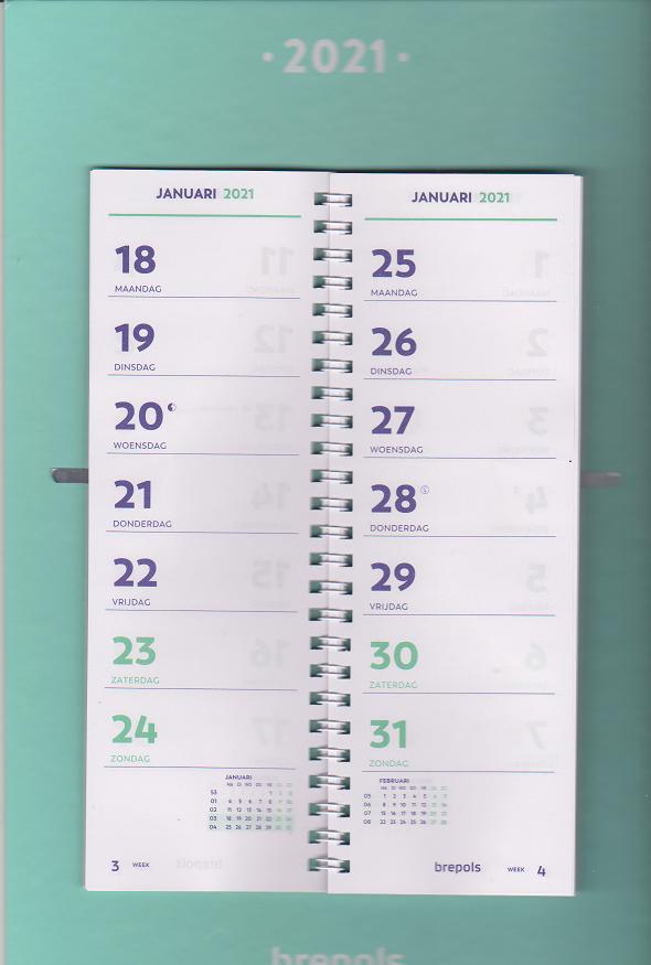 week omslag kalender 2021 1849.9900.00.4.0 ...