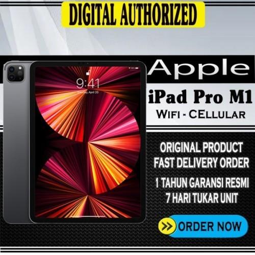 "Jual iPad Pro 2021 M1 chip 12.9 "" Inch 2TB Silver Gray 12 ..."