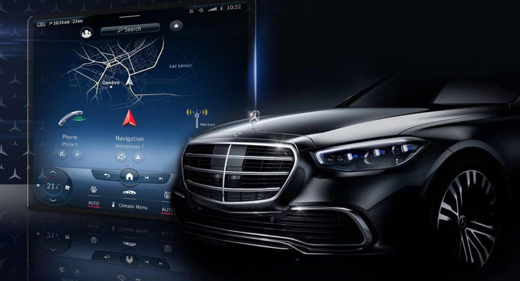 2021 Mercedes S-Class Will Reveal Huge New MBUX ...