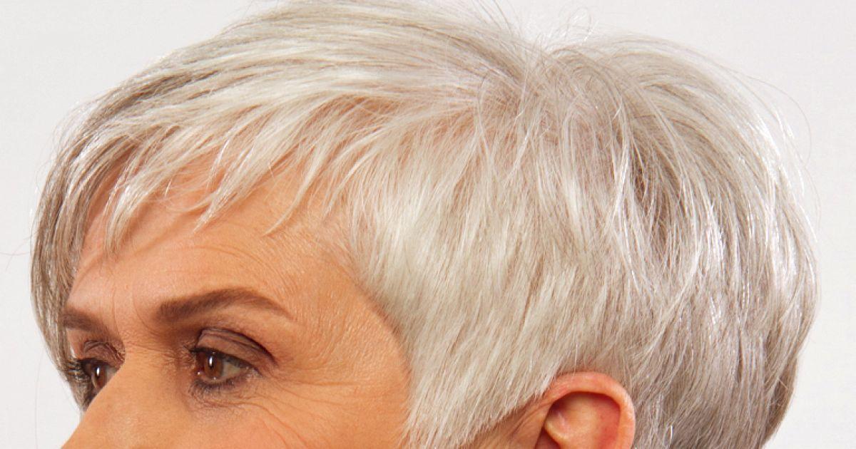 Kurzhaarfrisuren 2020 frech grau - Beliebte Frisuren 2020