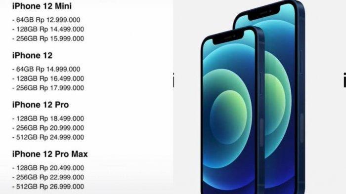 Daftar Harga Hp iPhone Awal Februari 2021 di Erafone ...