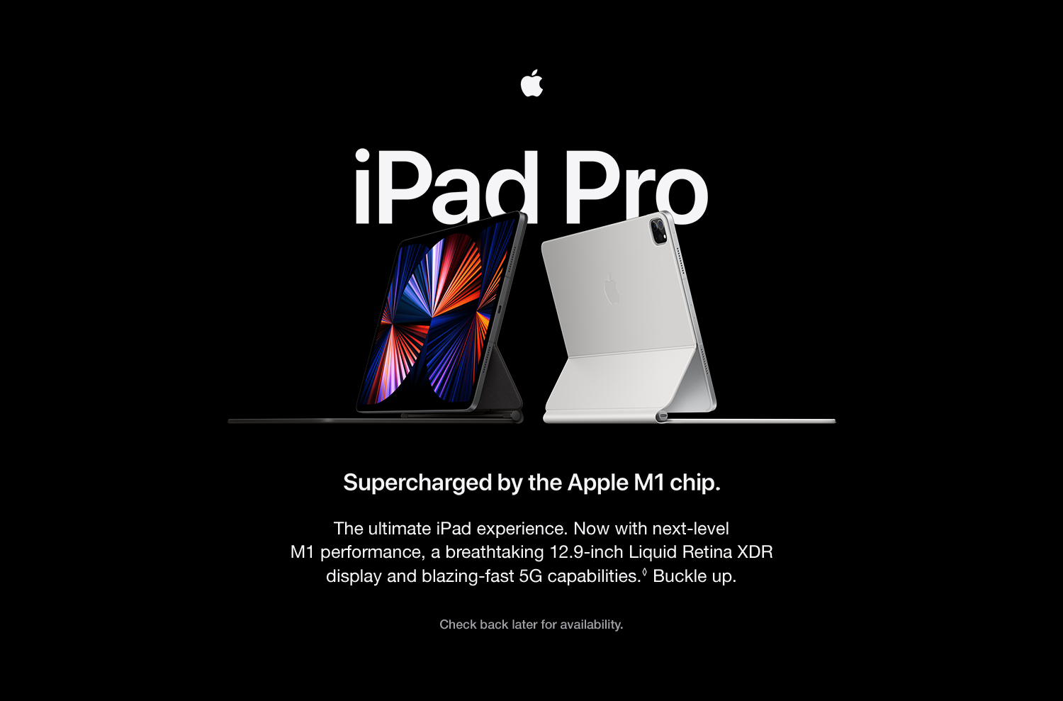 Learn More iPad Pro (2021) - Switch