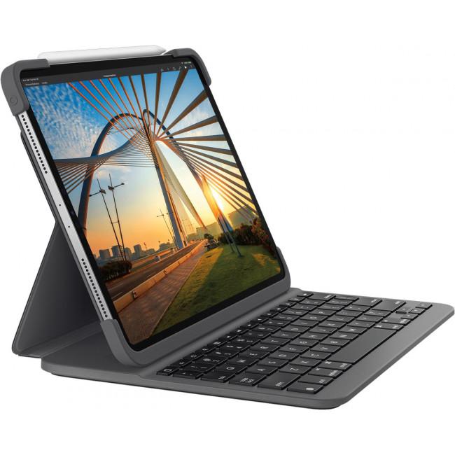 "Logitech Slim Folio Pro, 12.9"" iPad Pro (2018 /2020), CH ..."