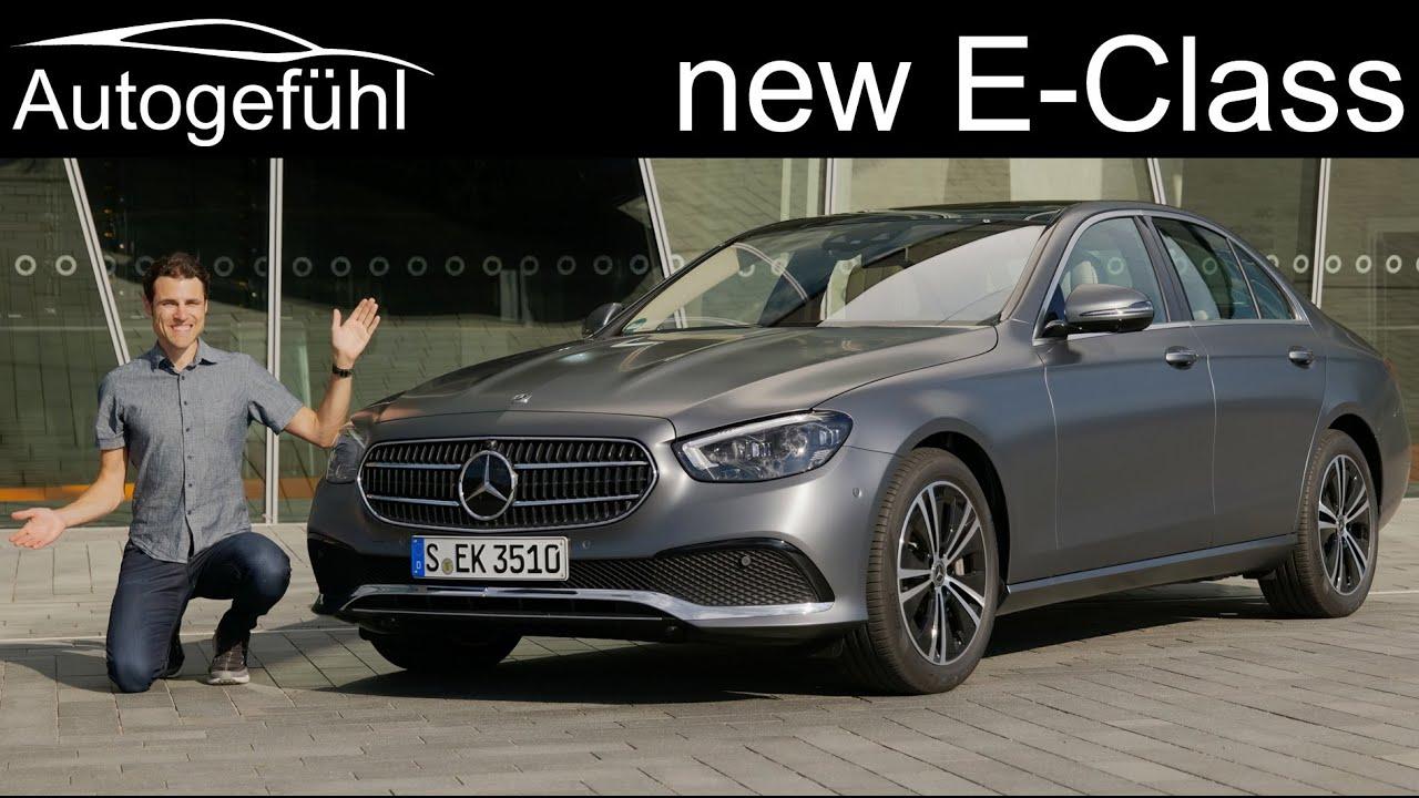 new Mercedes E-Class Facelift FULL REVIEW 2021 EClass ...