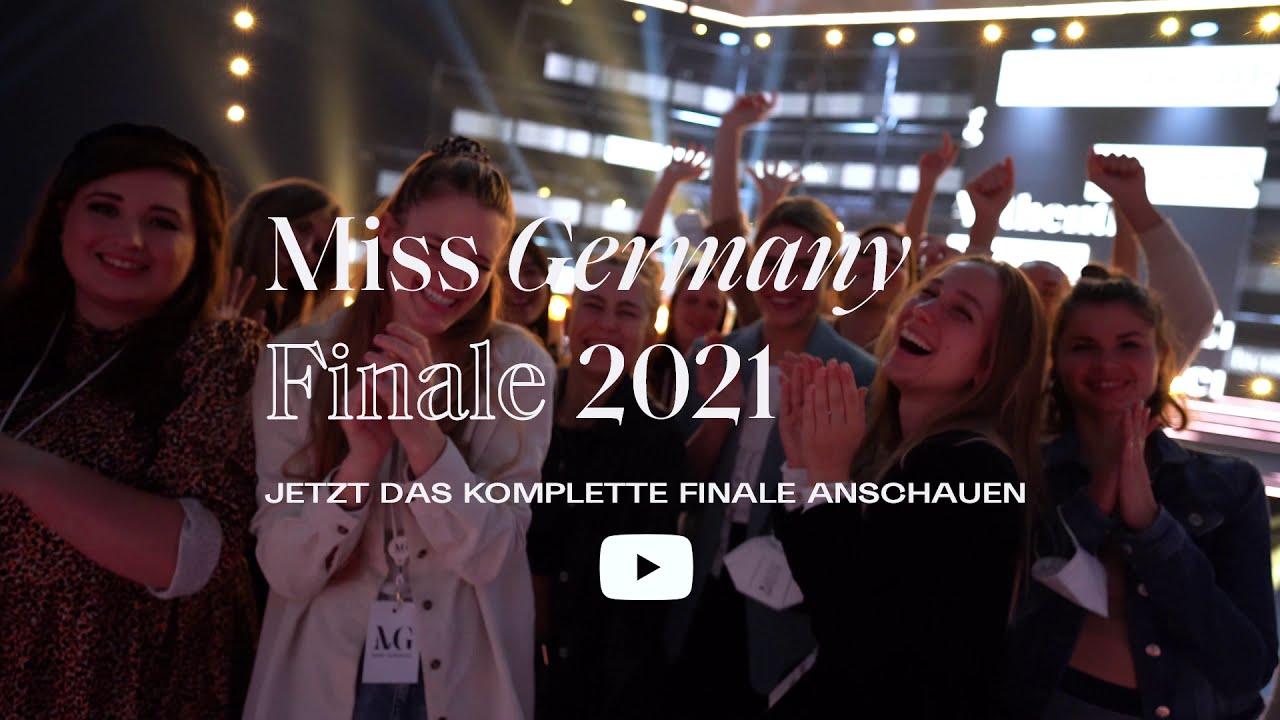Jetzt anschauen | Das Miss Germany-Finale 2021 - YouTube