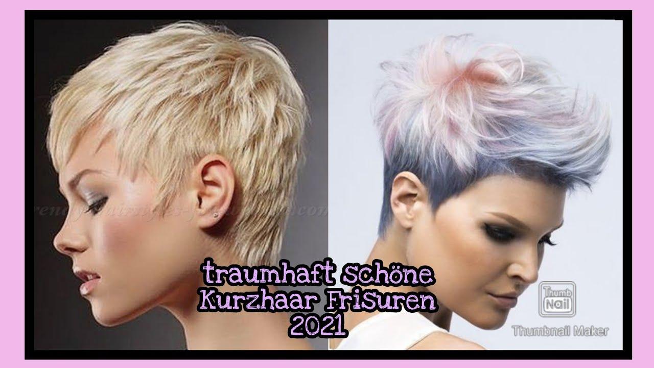 traumhaft schöne Kurzhaar-Frisuren 2021/ frech, sexy und ...
