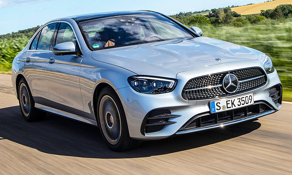 Mercedes E-Klasse Facelift (2020): Erste Testfahrt ...