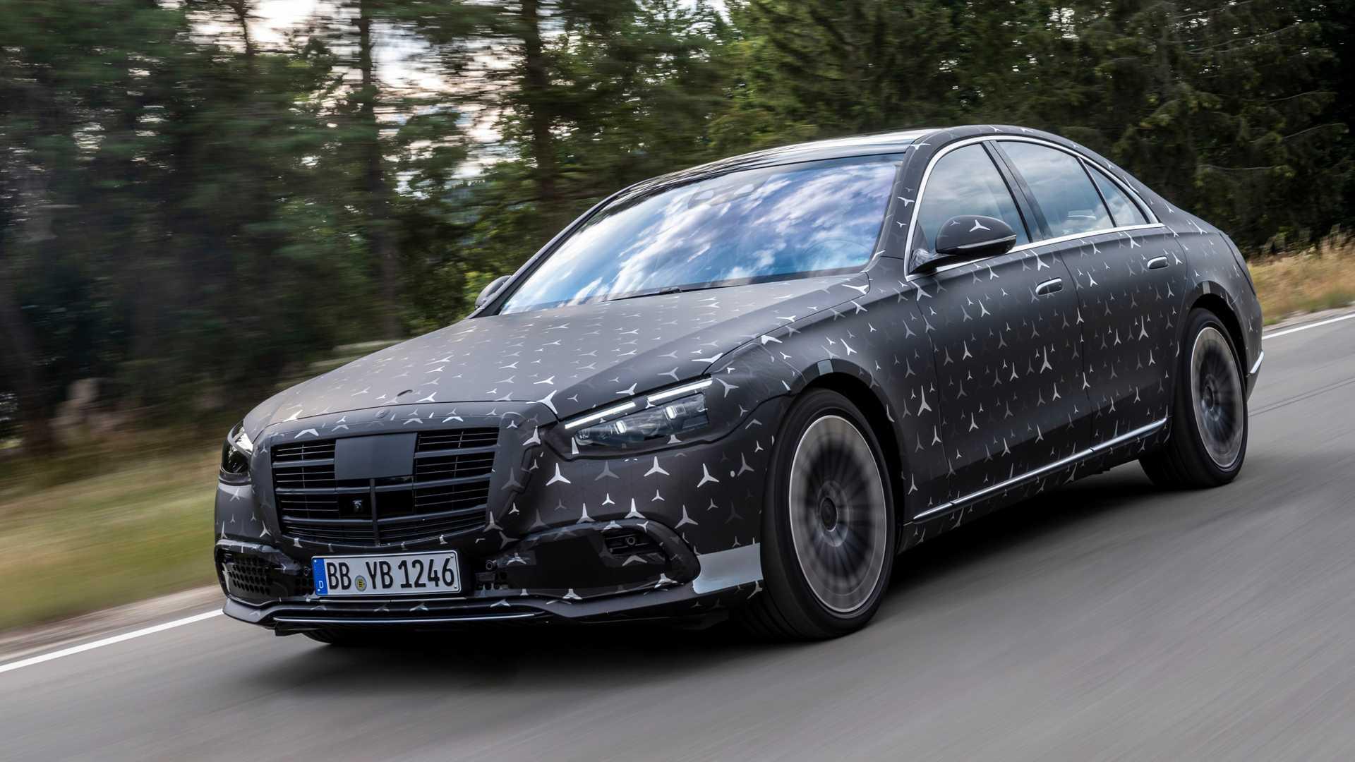 Mercedes-Benz S-Klasse (2021): Was bislang alles bekannt ...