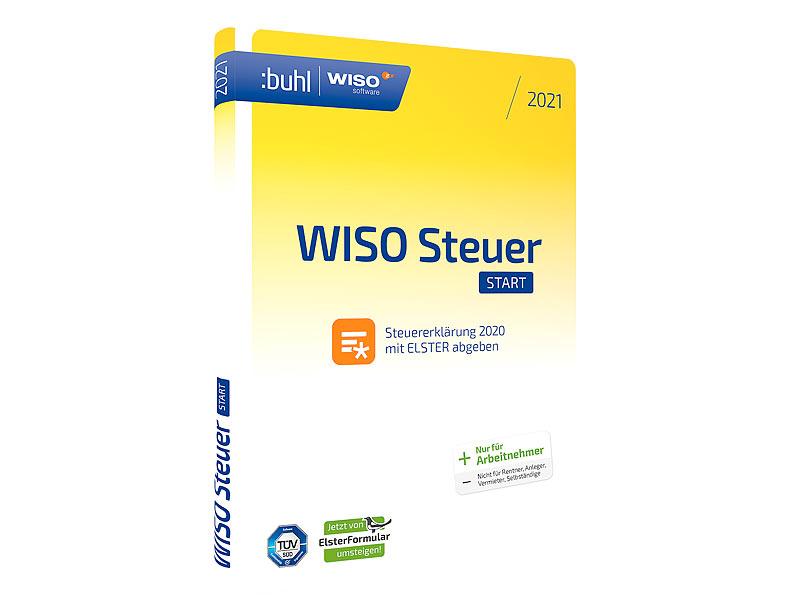 WISO Steuersoftware: steuer:Start 2021 (für das Steuerjahr ...