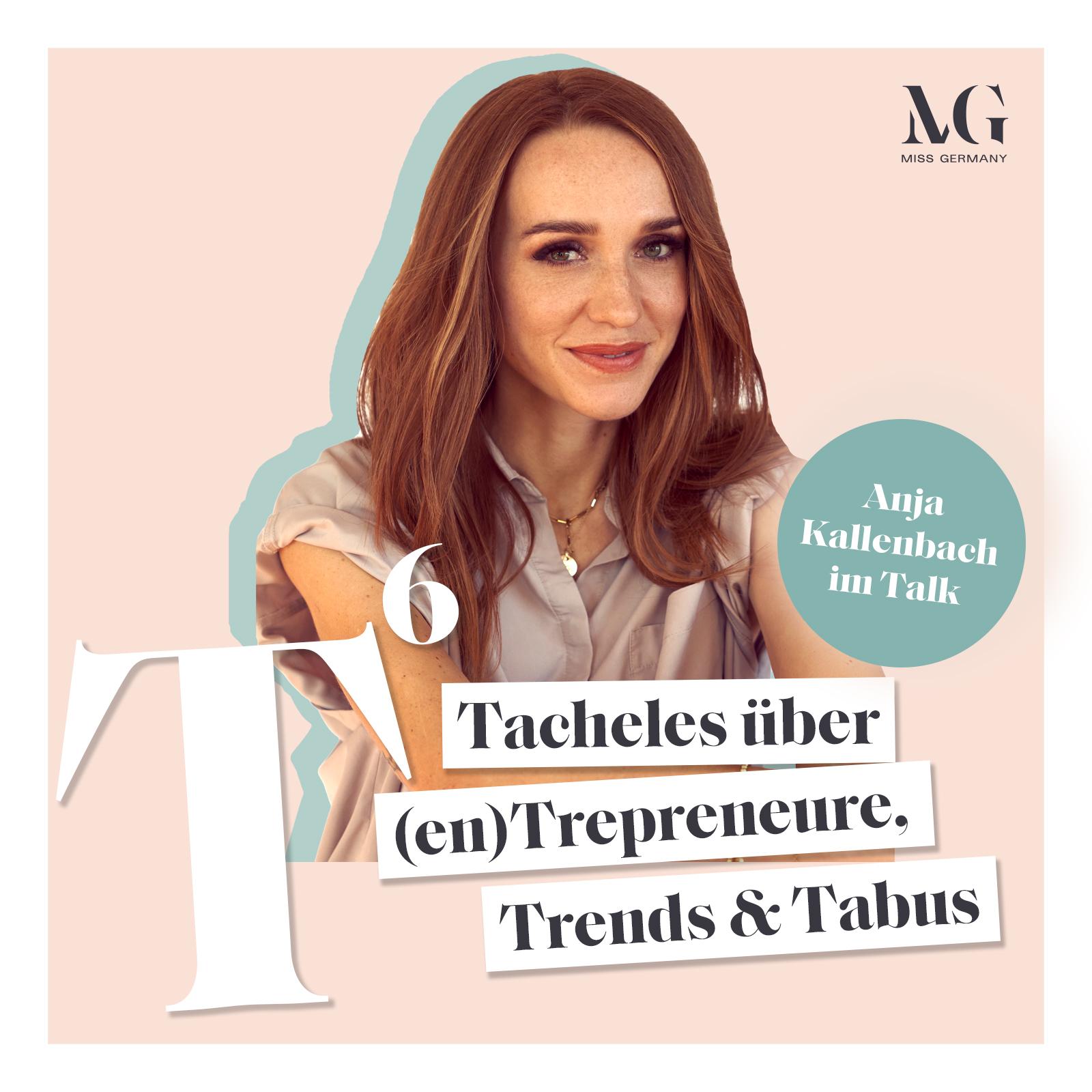 Miss Germany 2021, Anja Kallenbach, bei T HOCH 6 - Miss ...