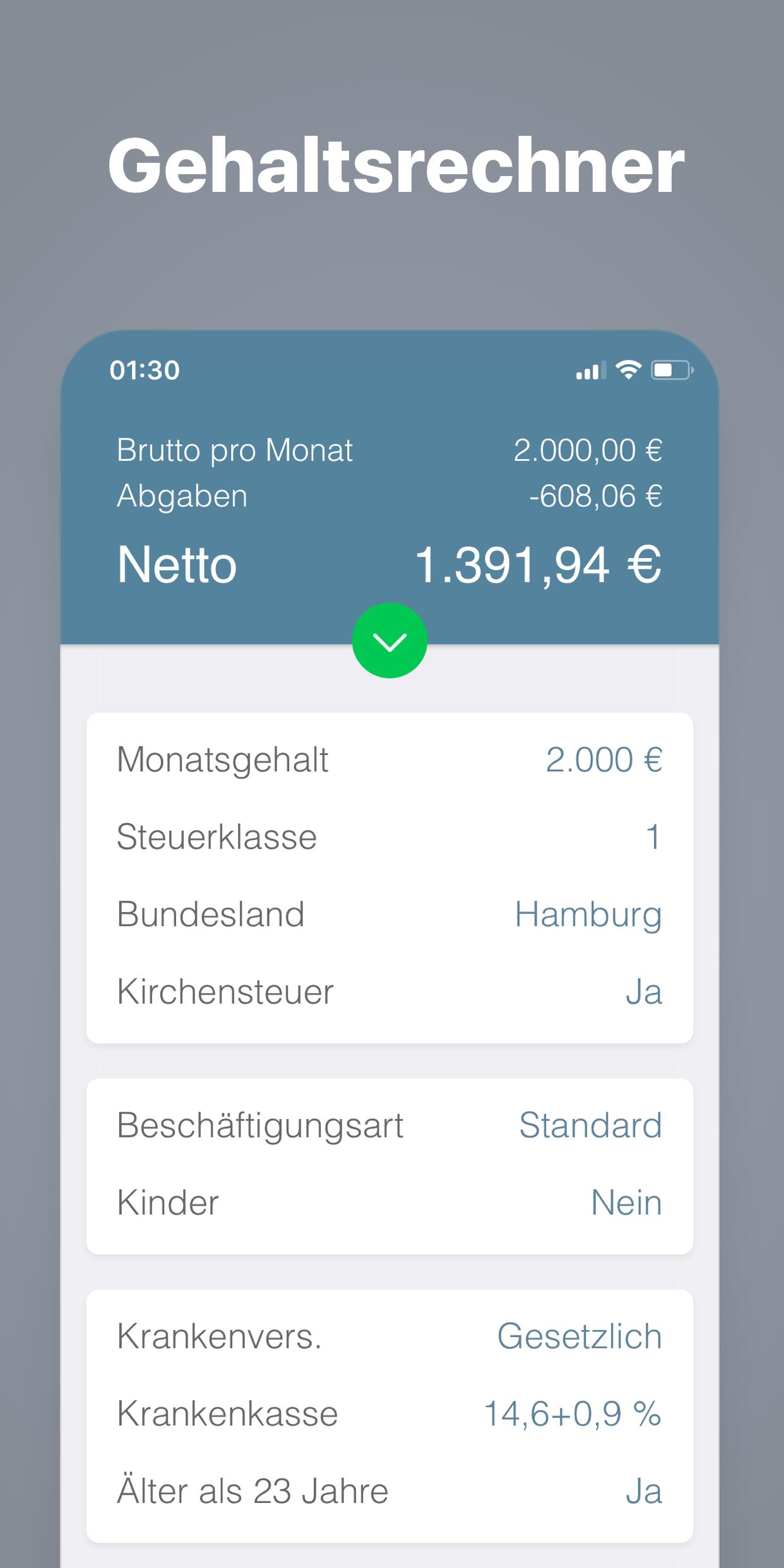 Bruno - Brutto Netto Rechner 2021 APK 2.5.4 Download for ...