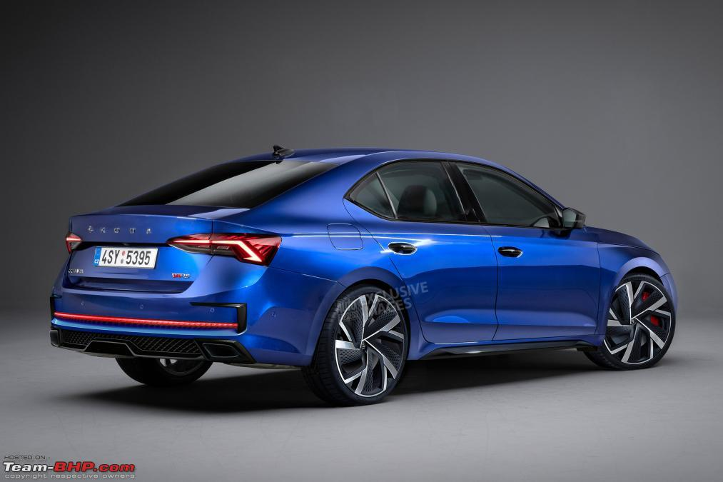 The 4th-gen Skoda Octavia. EDIT: India launch pushed to ...