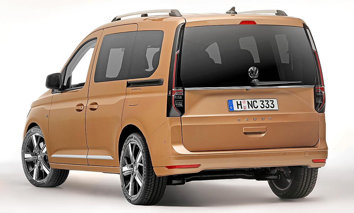 Vw Caddy Maxi 2020 Maße