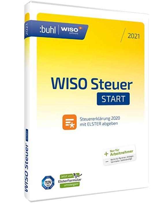 WISO Steuer-Start 2021 Standard Disc Version (für ...