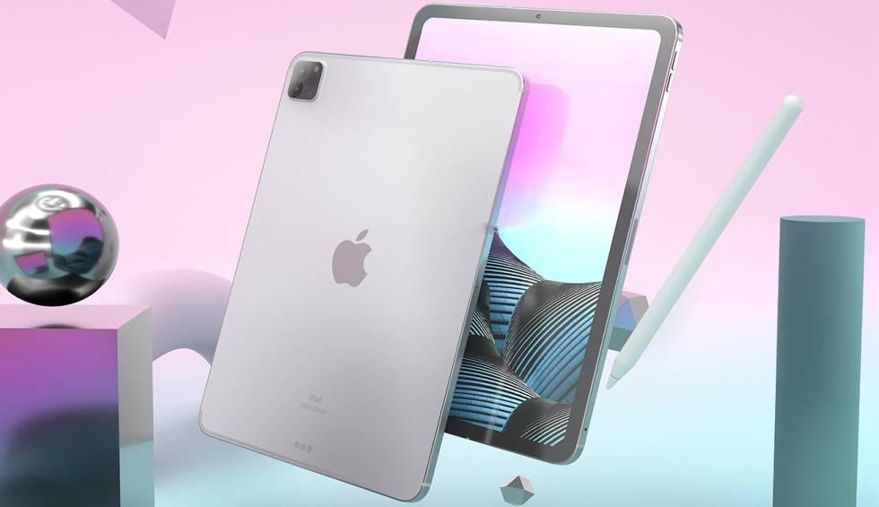 Se filtra el primer render del próximo iPad Pro (2021), te ...